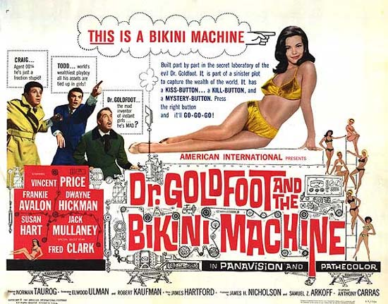 Dr. Goldfoot and the Bikini Machine poster