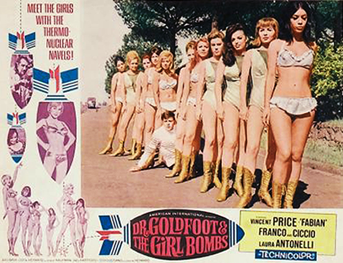 Dr. Goldfoot and the Girl Bombs poster2