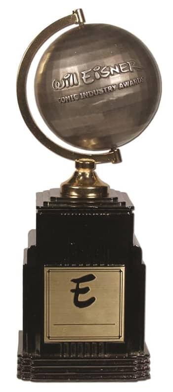 Eisner Award Trophy