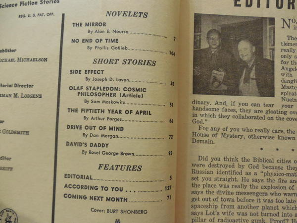 Fantastic Science Fiction Stories June 1960-contents 2-small