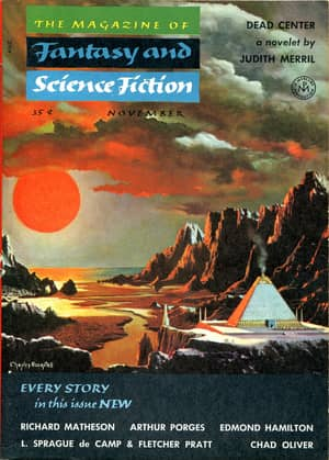 Cover by Chesley Bonestell