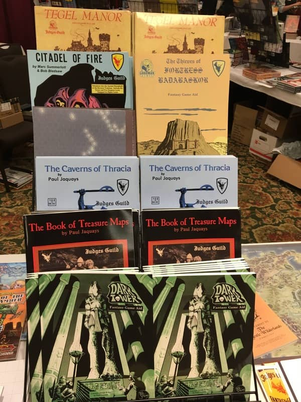 Goodman Games at Gary Con 2018-small