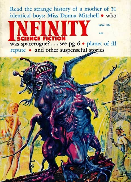 Infinity Science Fiction November 1958-small