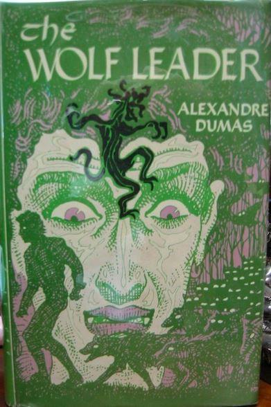 Mahlon Blaine cover of Alexander Dumas The Wolf Leader2