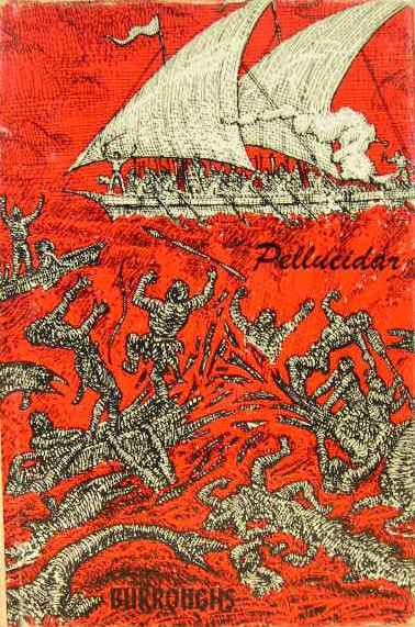 Mahlon Blaine cover of Burroughs Pellucidar
