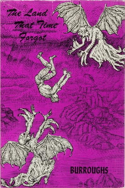 Mahlon Blaine cover of Burroughs The Land That Time Forgot