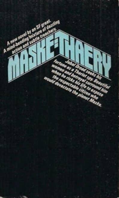 Maske Thaery Ken Barr cover-back