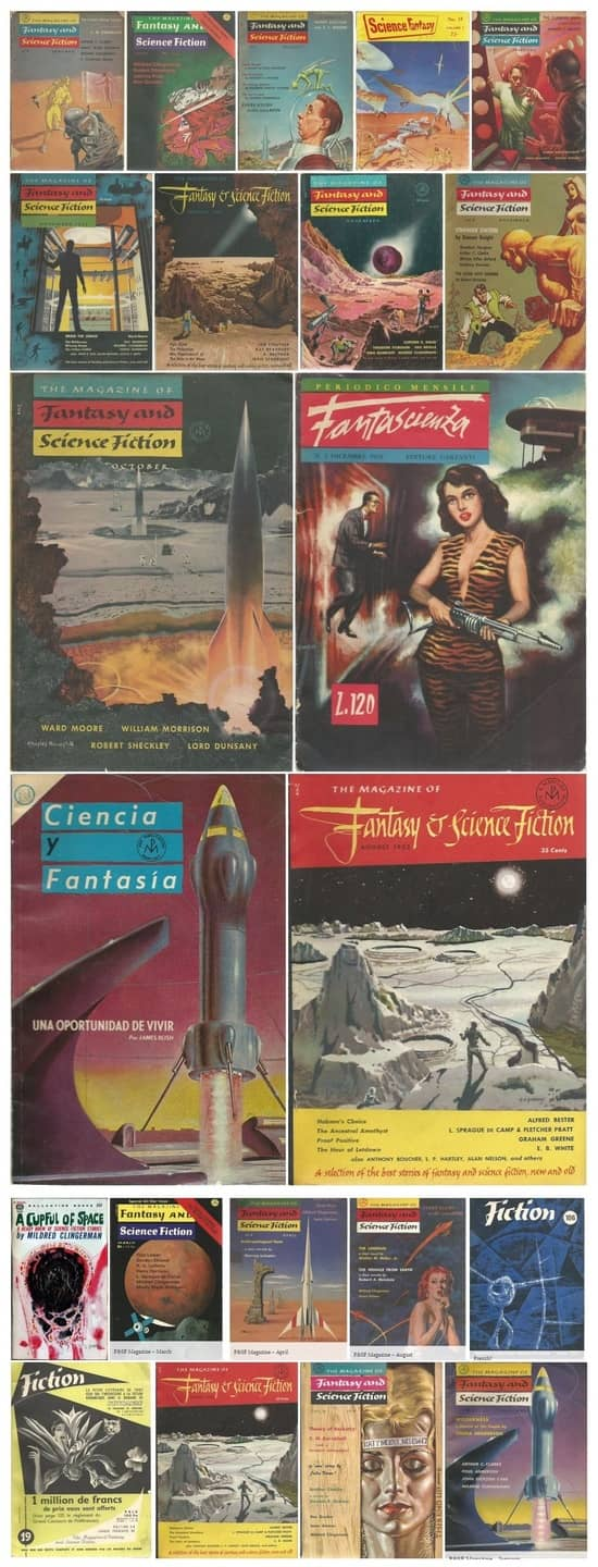 Mildred Clingerman in the Magazine of Fantasy and Science Fiction-small