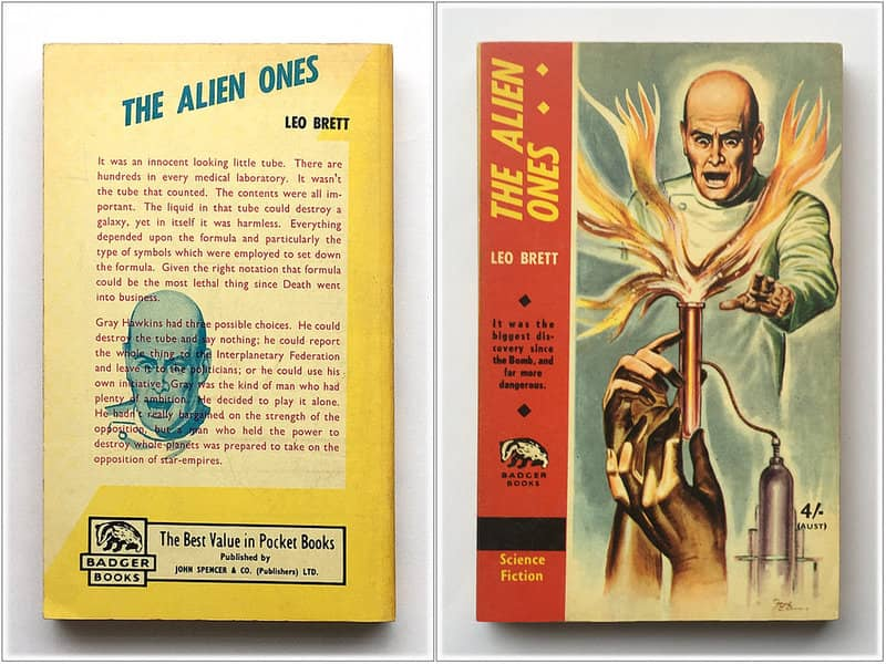 The Alien Ones Lionel Fanthorpe-small