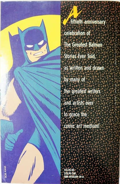 The Greatest Batman Stories Ever Told-back-small