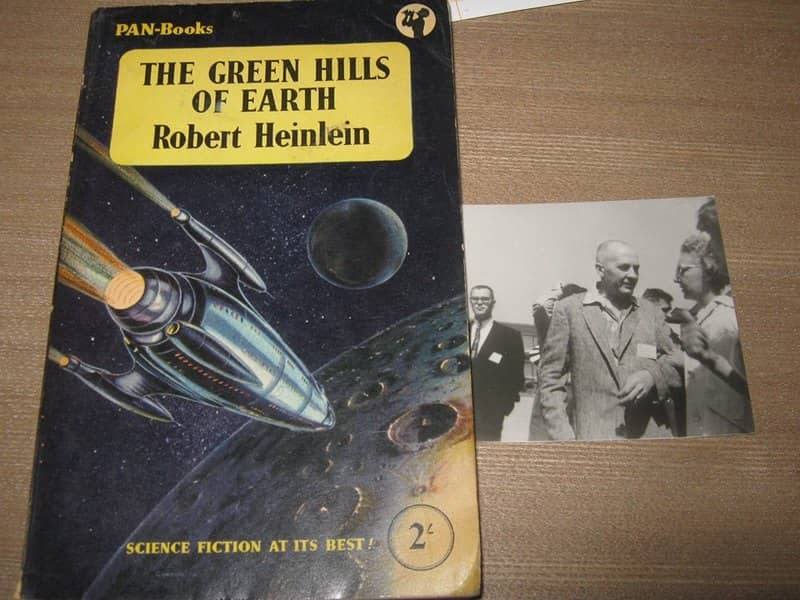 The Green Hills of Earth and Robert Heinlein-small