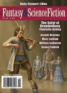 The Magazine of Fantasy and Science Fiction March April 2018-rack