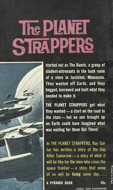 The Planet Strappers Raymond Z Gallun-back-small