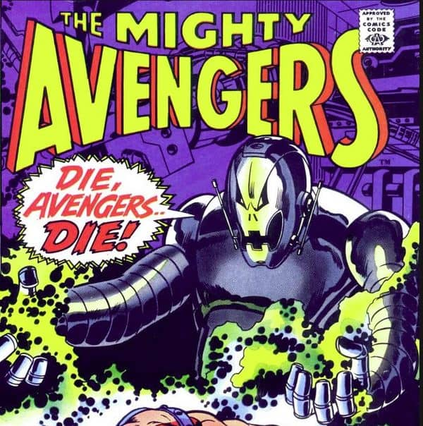 Avenges-67-August-1969-cover