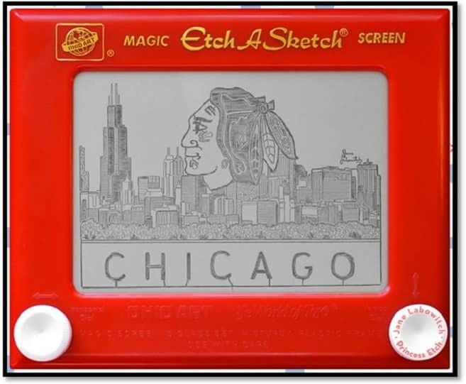 C2E2 2018 Etch a Sketch Chicago