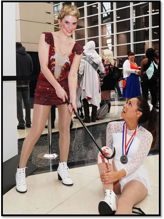 C2E2 2018 cosplay Tonya Harding