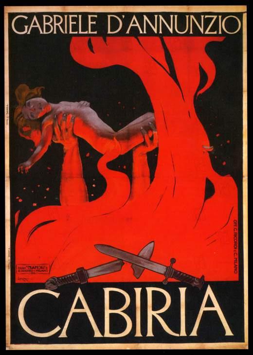 Cabiria-poster-dannunzio