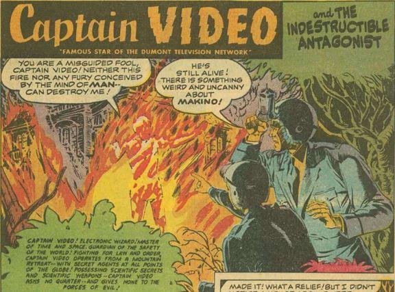 Captain Video #3 June 1951 The Indestructible Antagonist 1 panel