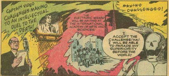 Captain Video #3 June 1951 The Indestructible Antagonist 18 panel