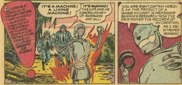 Captain Video #3 June 1951 The Indestructible Antagonist 6 panel