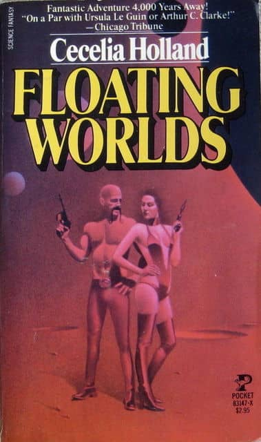 Cecelia Holland Floating Worlds-small
