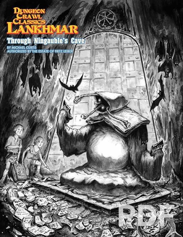 Dungeon Crawl Classics Lankhmar Through Ningauble's Cave