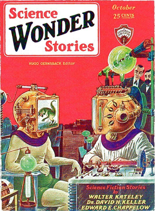 Frank R Paul Science Wonder Stories-small