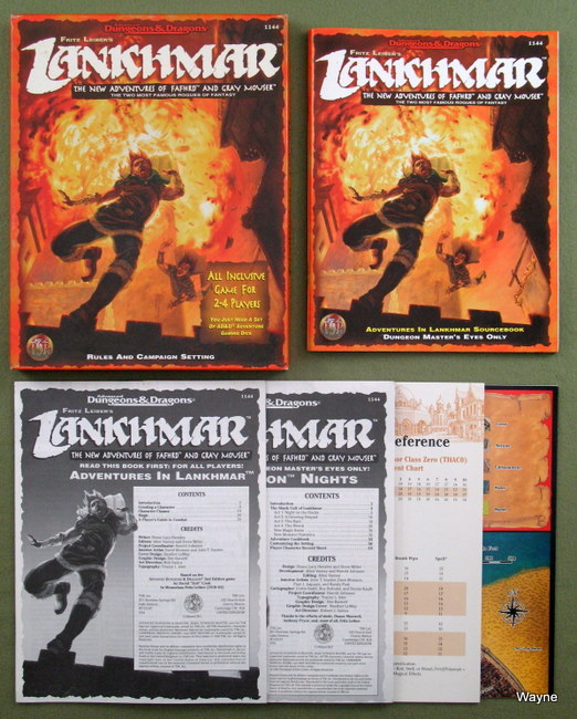Fritz Leiber's Lankhmar The New Adventures of Fafhrd and Gray Mouser contents