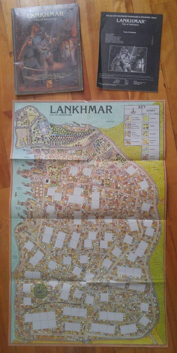 Lankhmar City of Adventure map-small