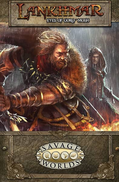 Lankhmar GM Screen and The Eyes of Goro'mosh Adventure-small