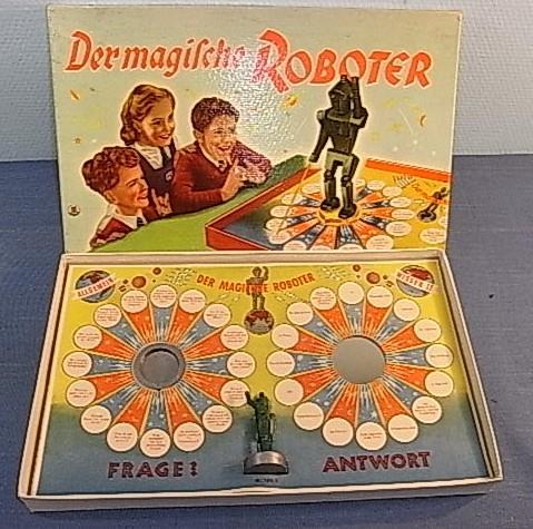 Merit Magical Amazing Robot board German