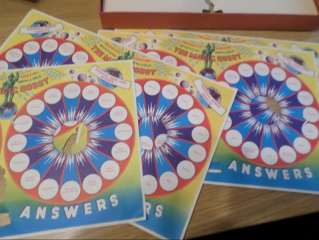 Merit Magical Amazing Robot question boards
