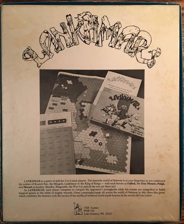 TSR Lankhmar board game-back-small
