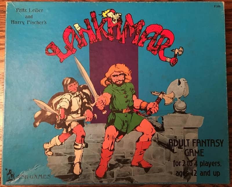 TSR Lankhmar board game-small