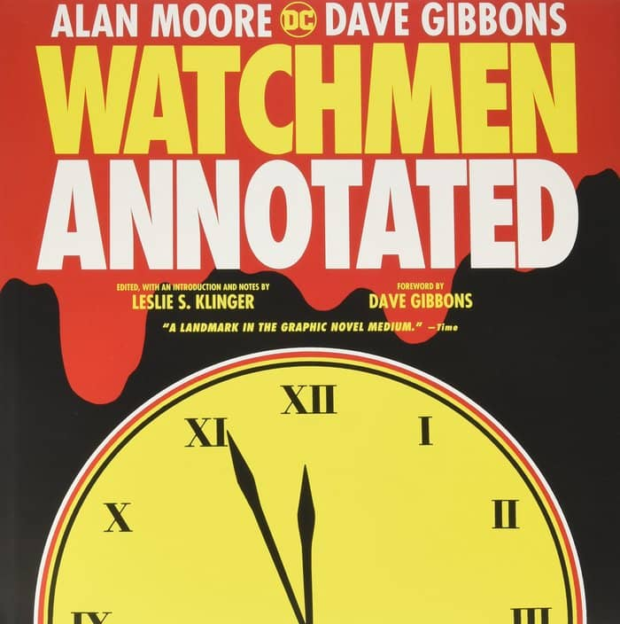 The Annotated Watchmen Leslie S Klinger-small