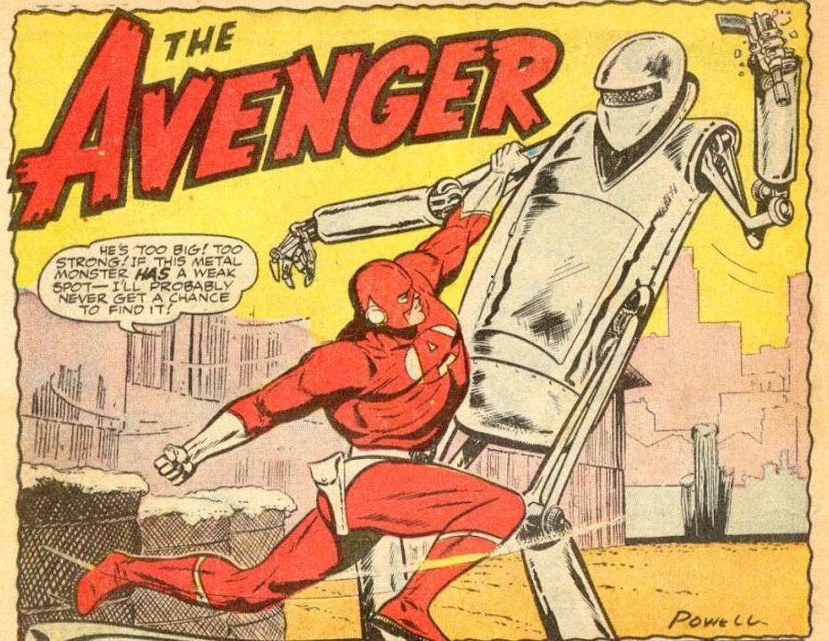 The Avenger #3 panel 1