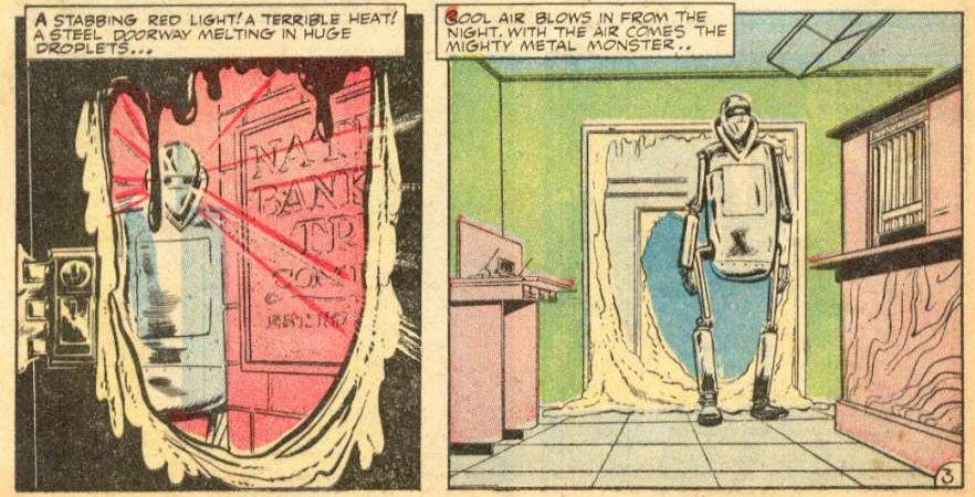 The Avenger #3 panel 3b