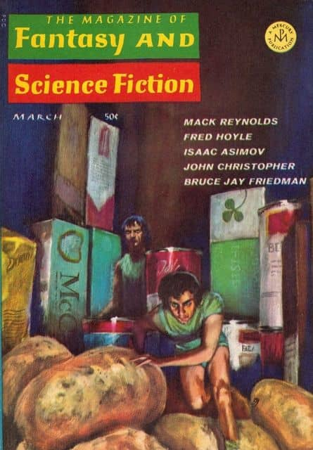 The Magazine of Fantasy and Science Fiction March 1967-small