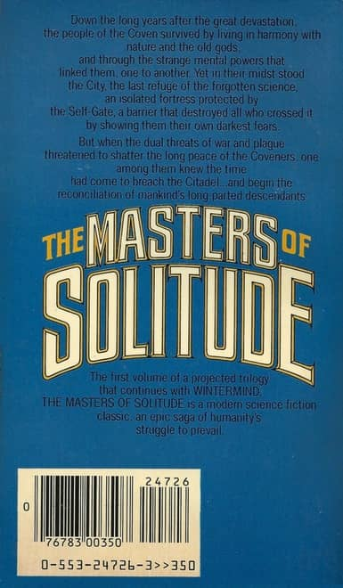 The Masters of Solitude-back-small