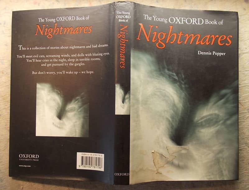 The Young Oxford Book of Nightmares-small