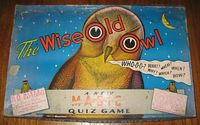 Wise Old Owl board game
