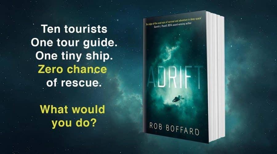 Adrift Rob Boffard banner