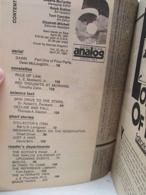 Analog April 1981 contents-small