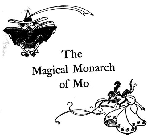Baum The Magical Monarch of Mo, and His People frontispiece