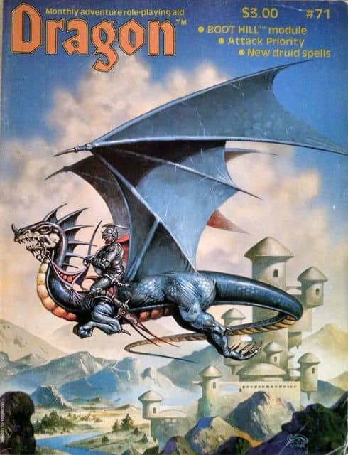 Dragon magazine March 1983-small