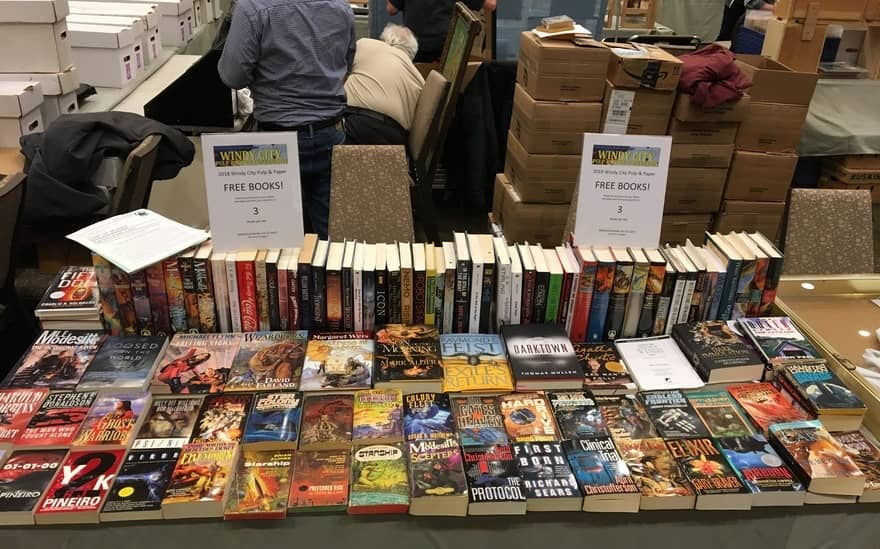 Free Books at the Black Gate Booth Windy City 2018-small