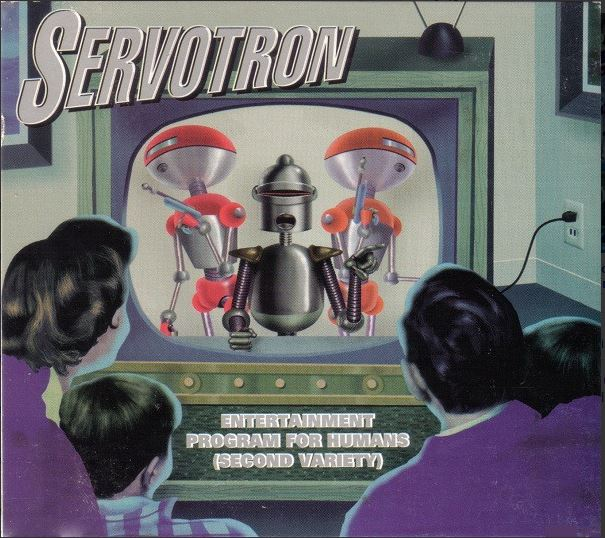 Servotron Entertainment Program for Humans Second Variety front cover