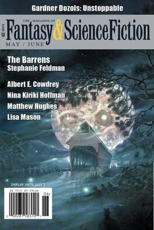 The Magazine of Fantasy & Science Fiction May June 2018-small