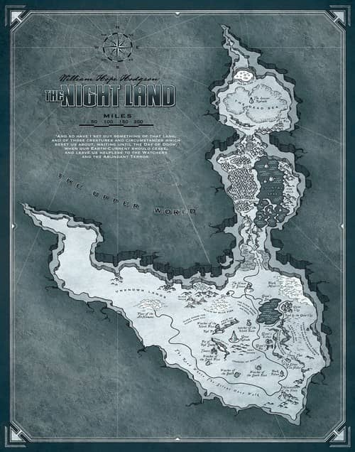 The Night Land Map-small