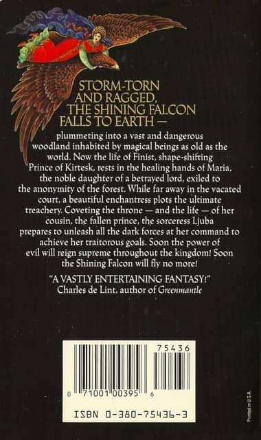 The Shining Falcon-back-small